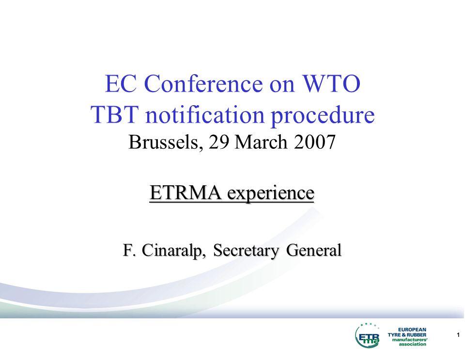 1 ETRMA experience F.