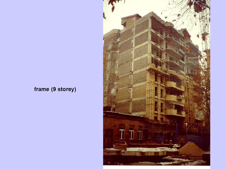 frame (9 storey)