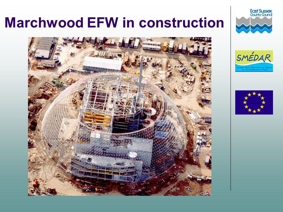Marchwood EFW in construction