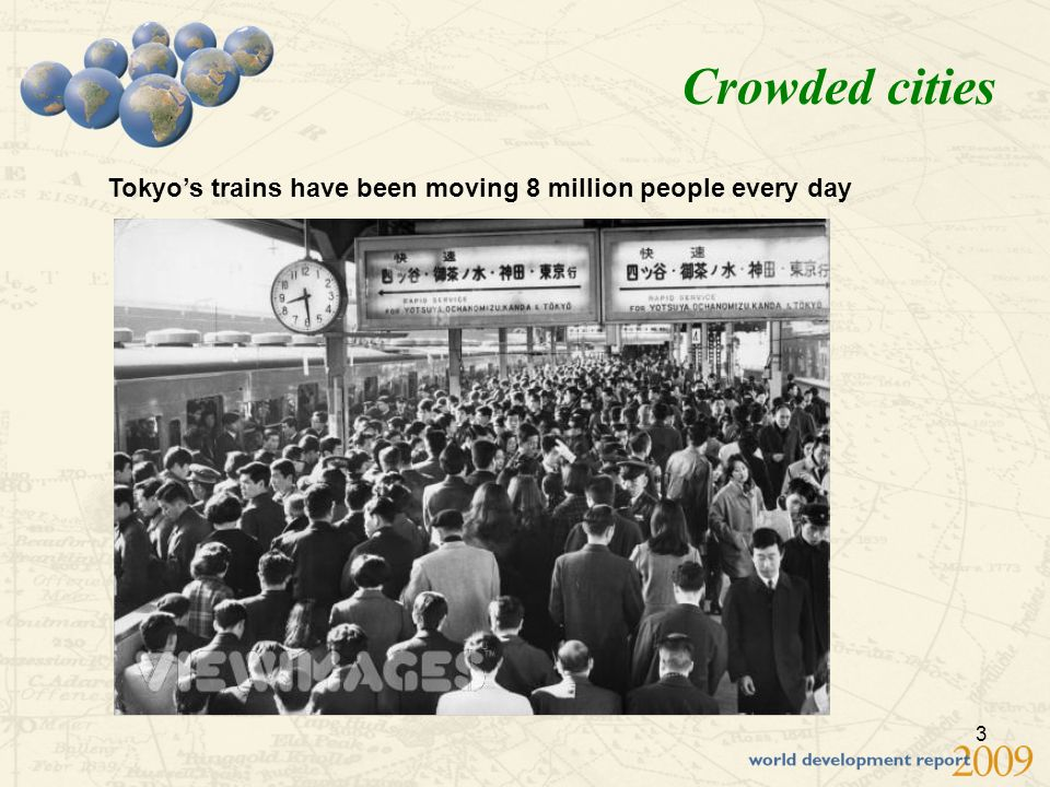 3 Crowded cities Tokyos trains have been moving 8 million people every day