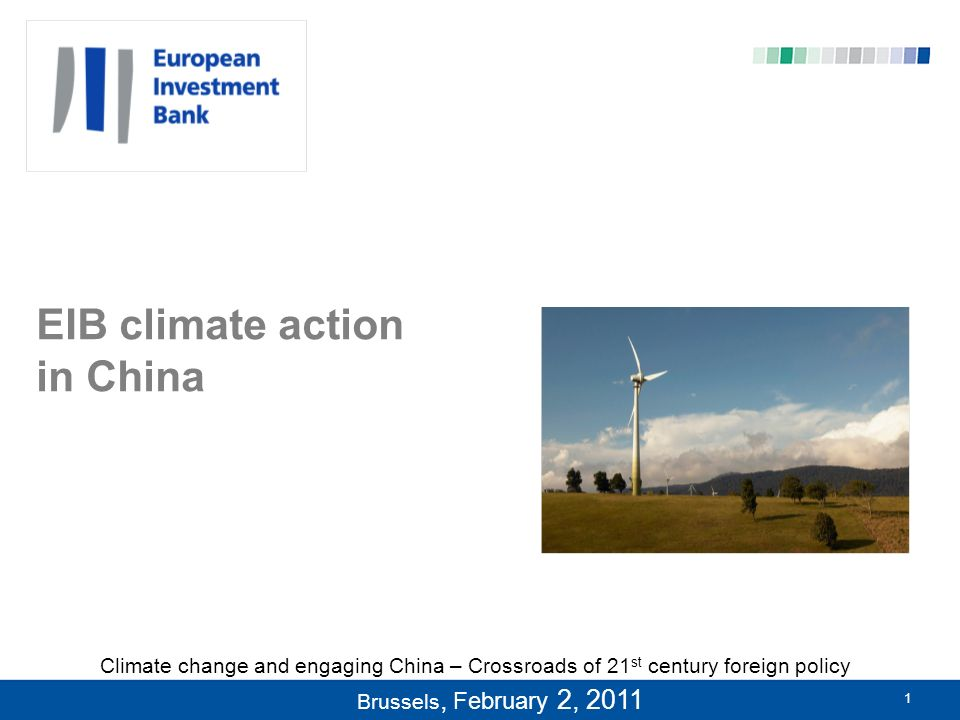 2 Introduction to the European Investment Bank 16/02/20142 European Investment Bank