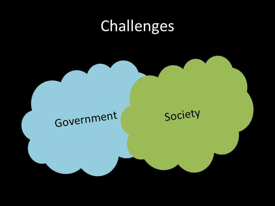 Challenges Government Society