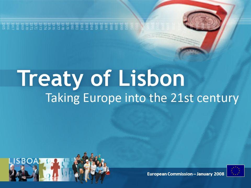 European Commission - January 2008 European Commission – January 2008