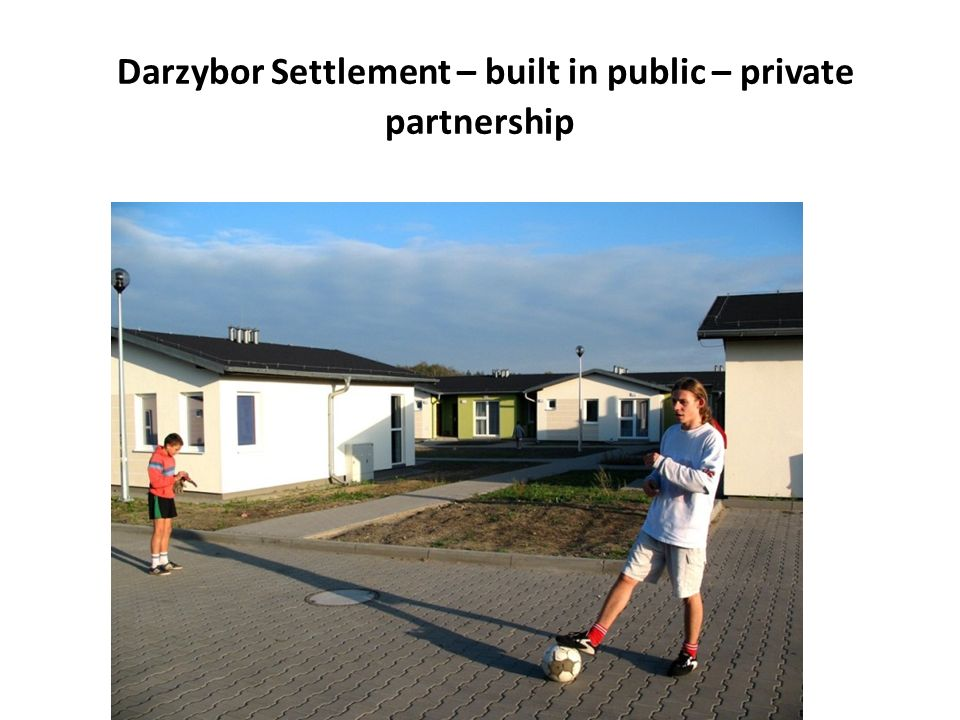 Darzybor Settlement – built in public – private partnership