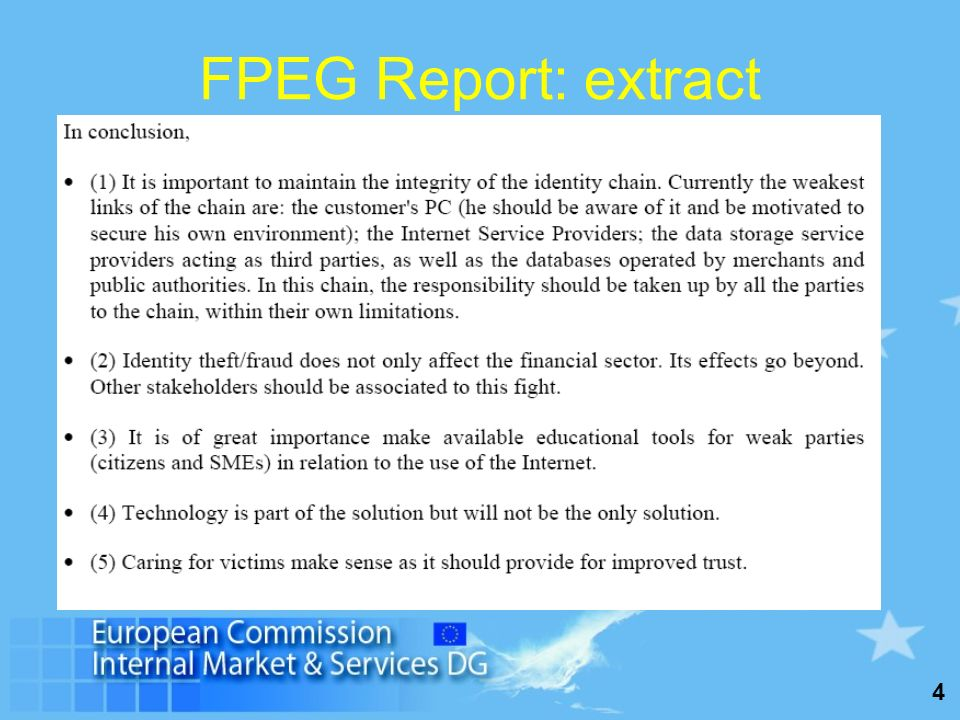 4 FPEG Report: extract