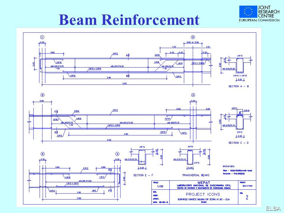 ELSA Beam Reinforcement