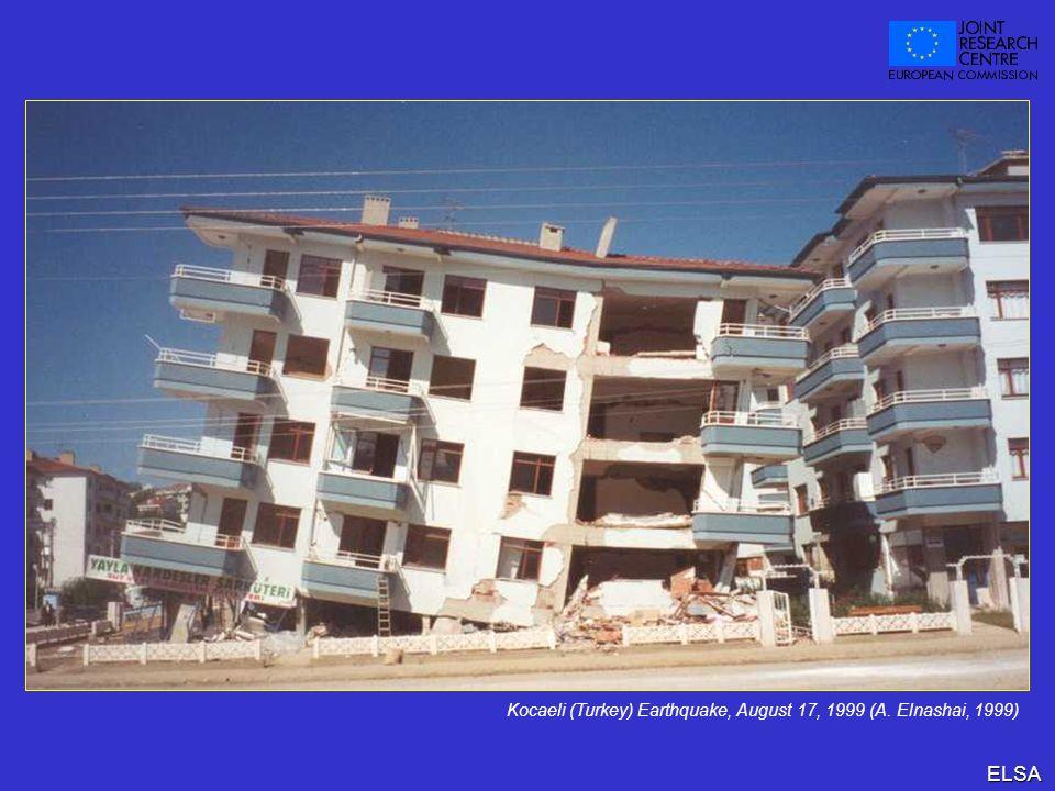 ELSA Kocaeli (Turkey) Earthquake, August 17, 1999 (A. Elnashai, 1999)