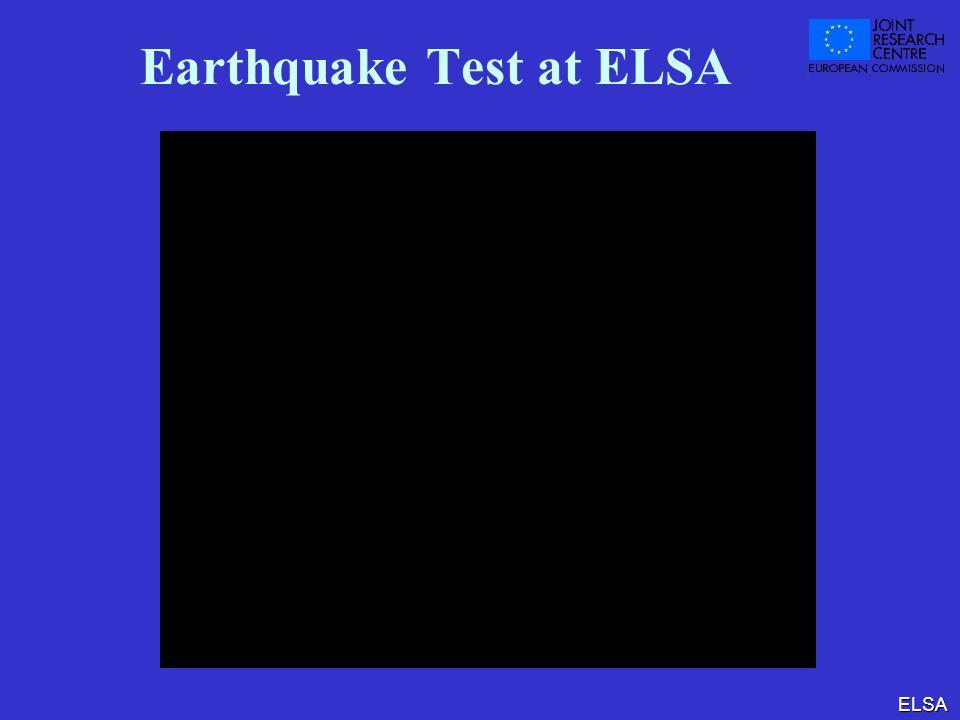 ELSA Earthquake Test at ELSA