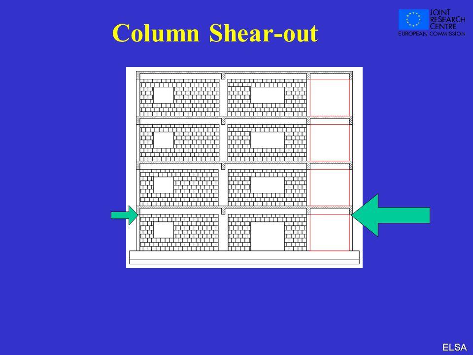 ELSA Column Shear-out