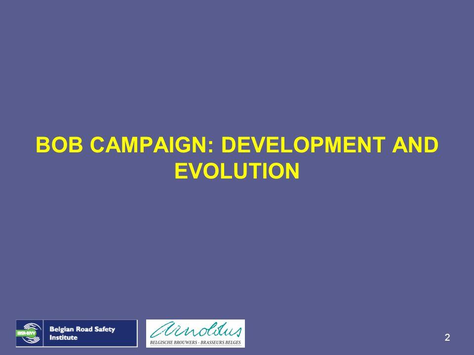2 BOB CAMPAIGN: DEVELOPMENT AND EVOLUTION