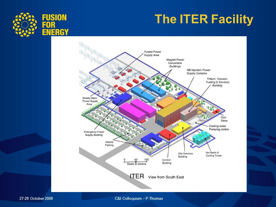 27-28 October 2008C&I Colloquium – P.Thomas The ITER Facility