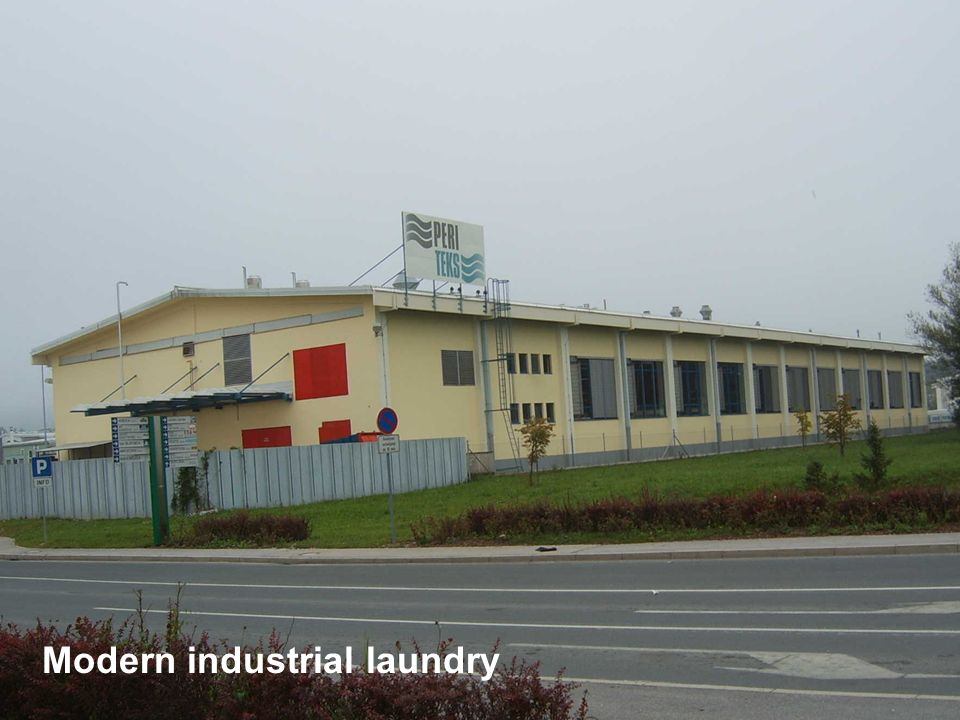 Modern industrial laundry