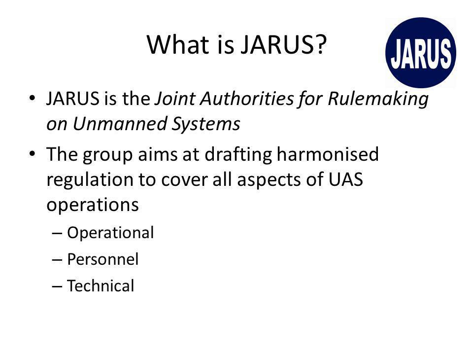 What is JARUS.