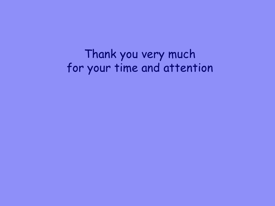 Thank you very much for your time and attention
