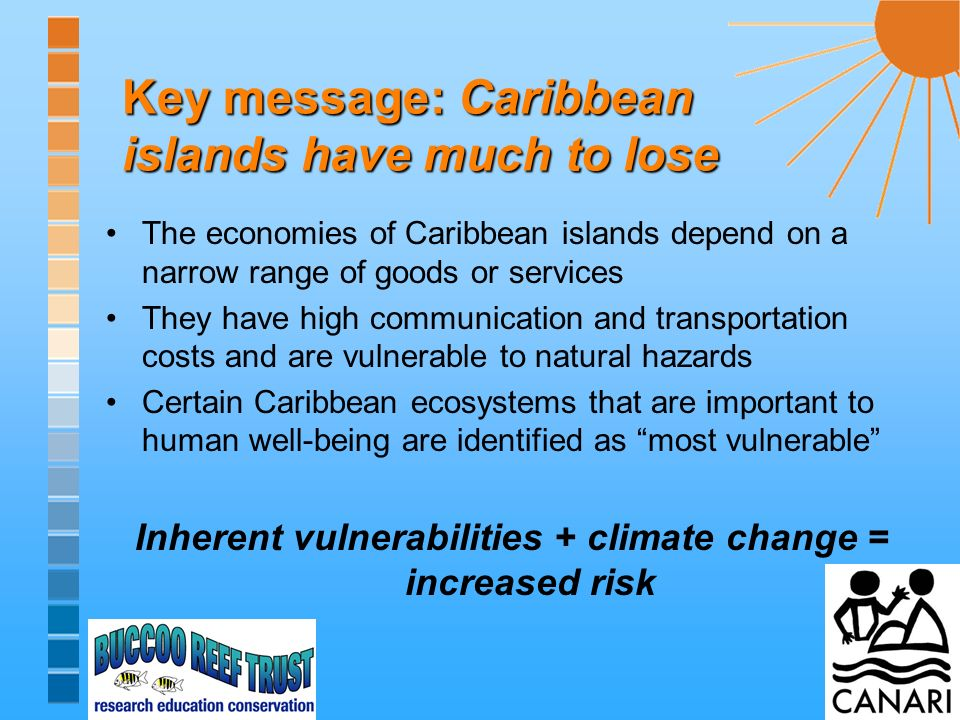Key message: Adaptation is a no regrets strategy with immediate benefits Adaptation is an opportunity to improve: natural resource management and physical planning ability to deal with the natural hazards as well as the growing human-induced stresses on the environment.