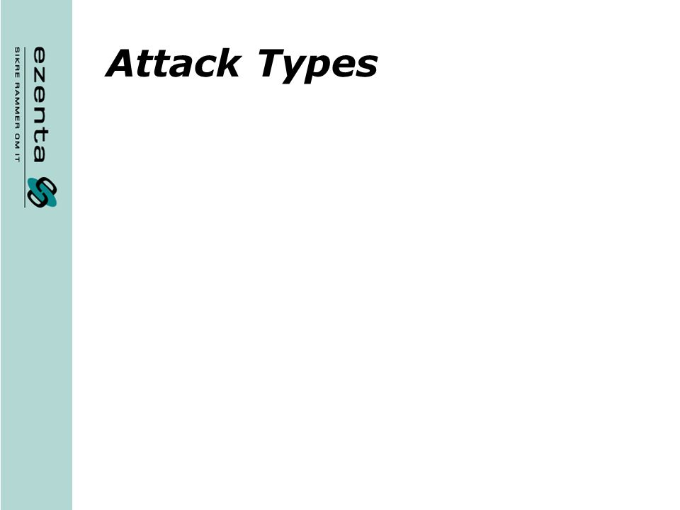 Attack Types
