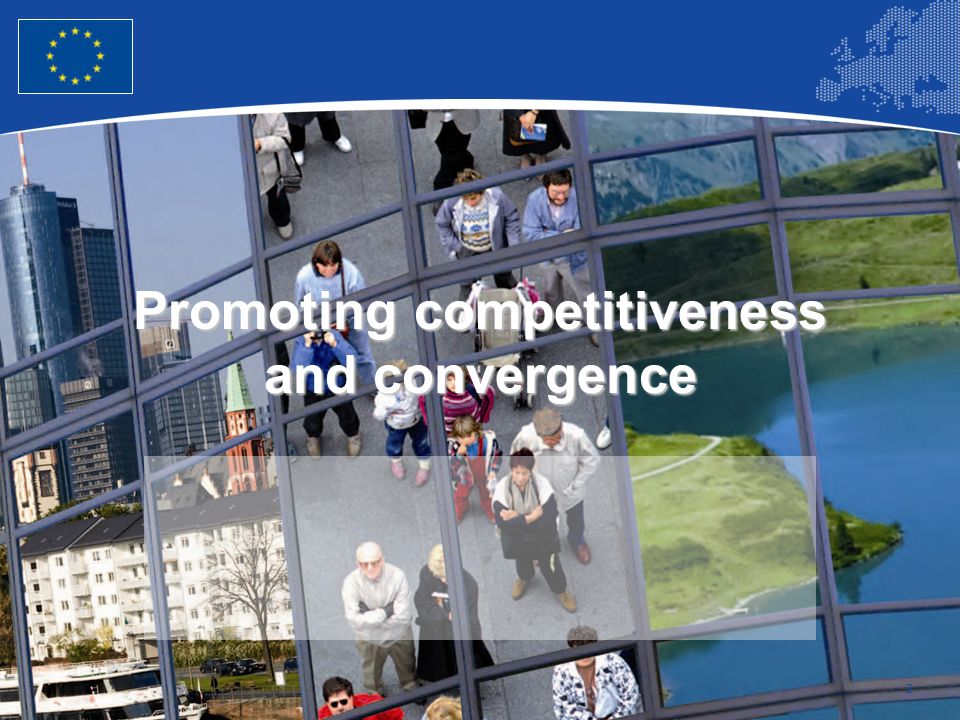 3 Promoting competitiveness and convergence