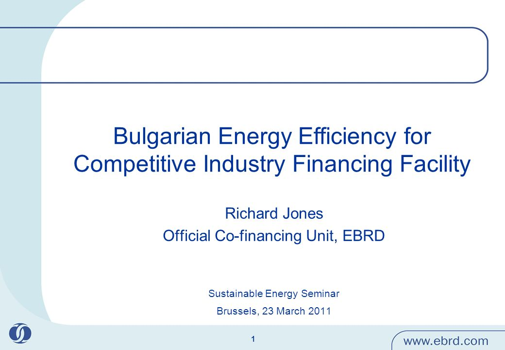 2 What is the EBRD.