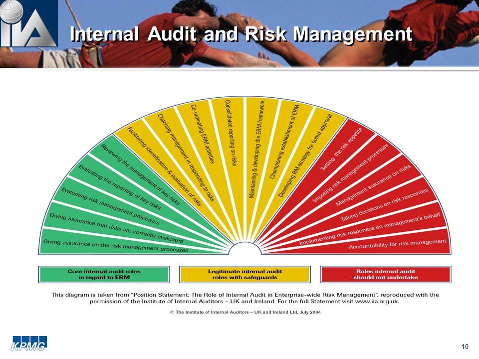 10 Internal Audit and Risk Management