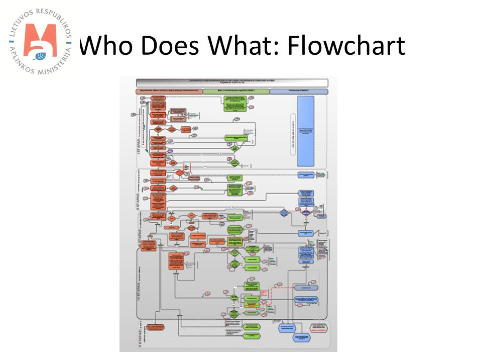 Who Does What: Flowchart