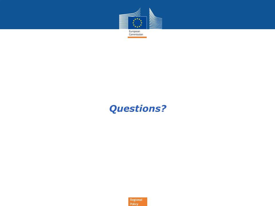 Regional Policy Questions?