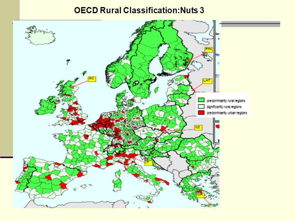 d OECD Rural Classification:Nuts 3