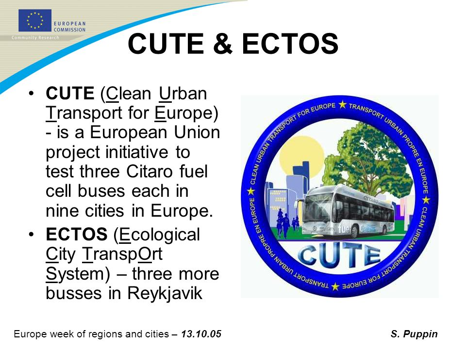 Europe week of regions and cities – 13.10.05S.