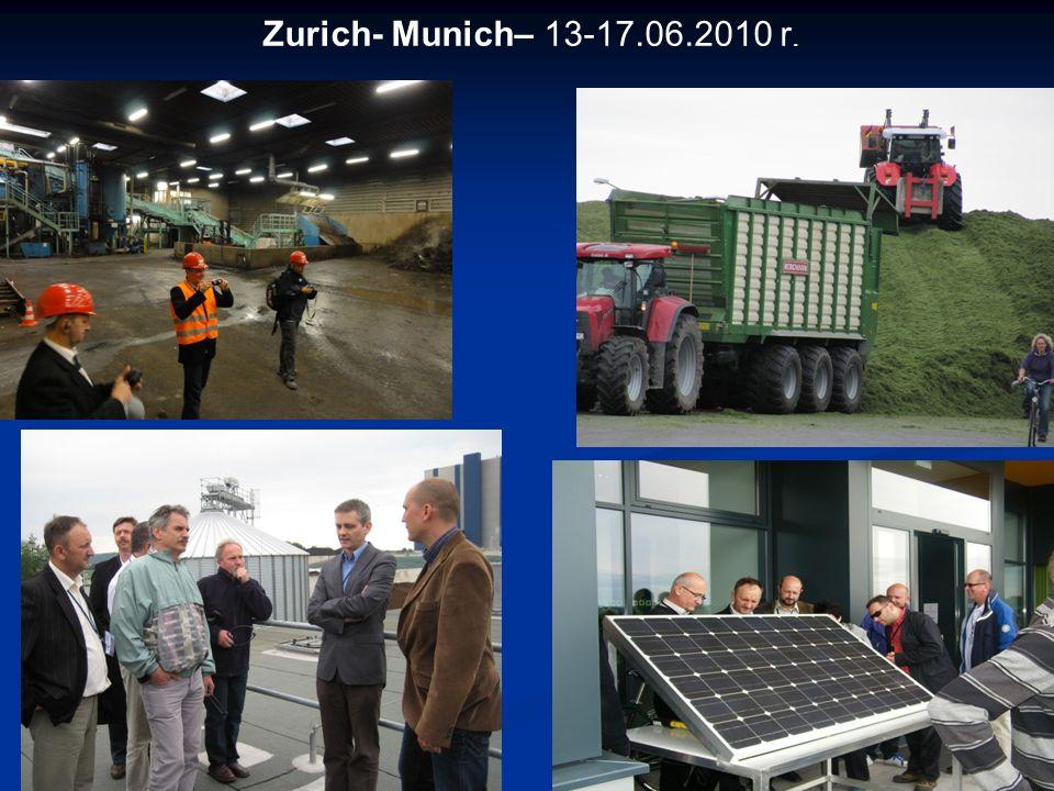 Zurich- Munich– 13-17.06.2010 r. 15