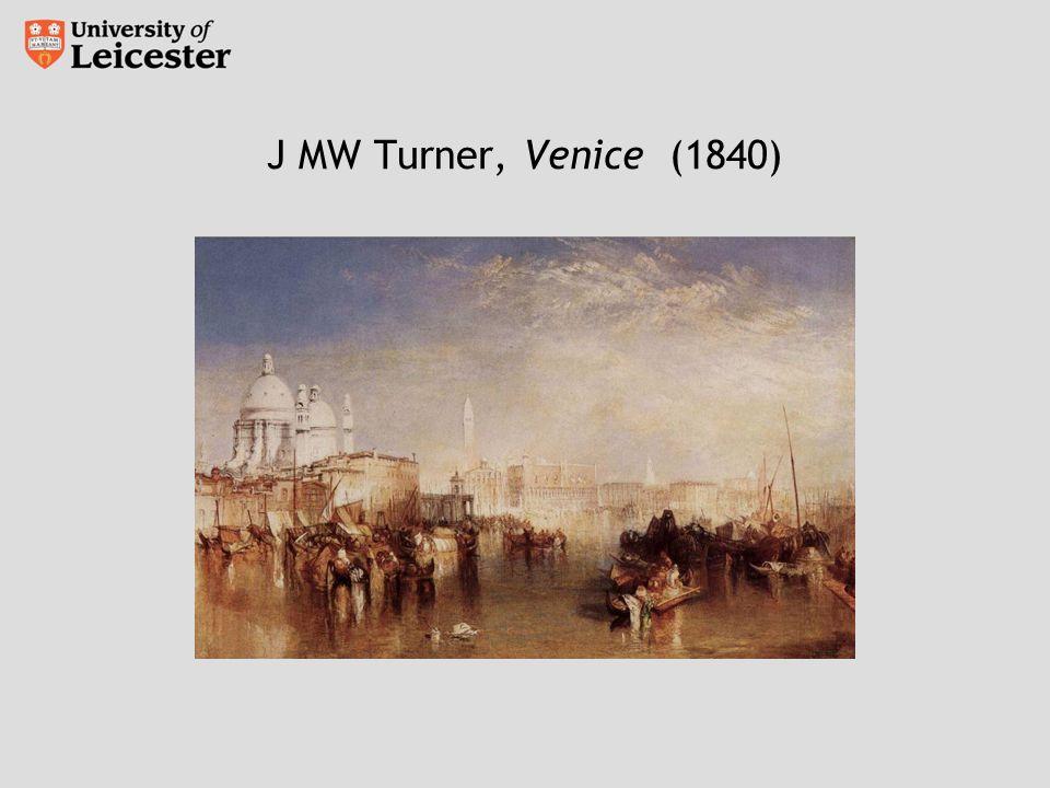 J MW Turner, Venice (1840)