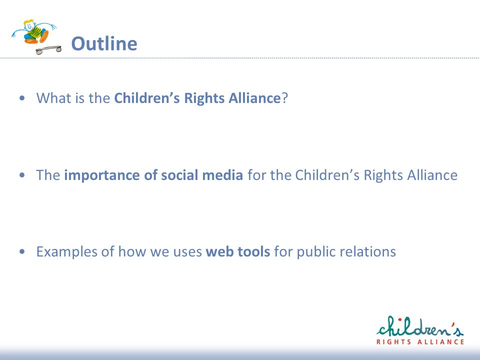 Outline What is the Childrens Rights Alliance.