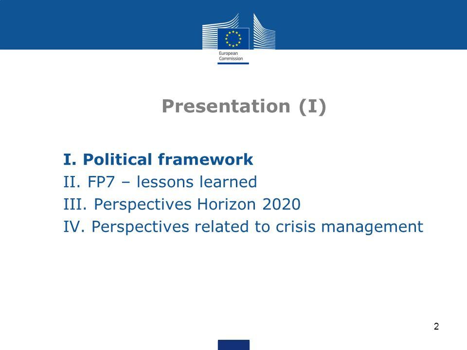 13 Three Priorities (indicative budget) 1.Excellent science (27 818 M) 2.Industrial leadership (20 280 M) 3.Societal challenges (35 888 M)