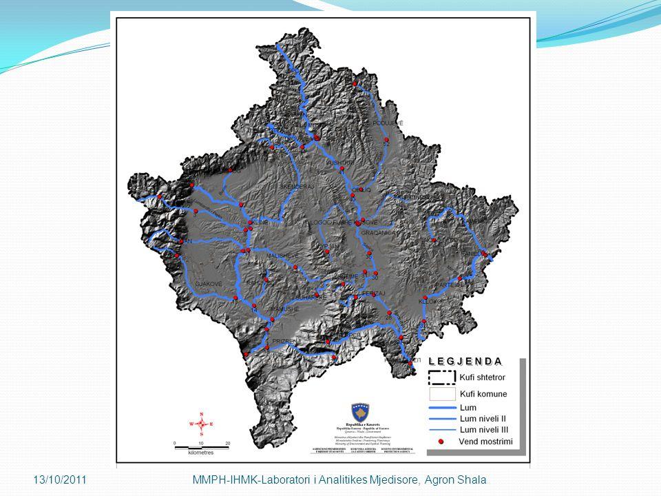 13/10/2011MMPH-IHMK-Laboratori i Analitikes Mjedisore, Agron Shala