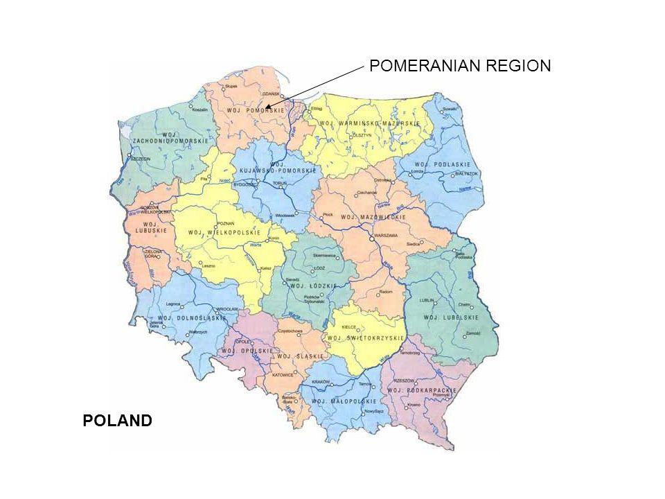 2,19 m inhabitants Area 18 300 square km 3 levels of self government 123 local communities 20 counties 1 voivodeship