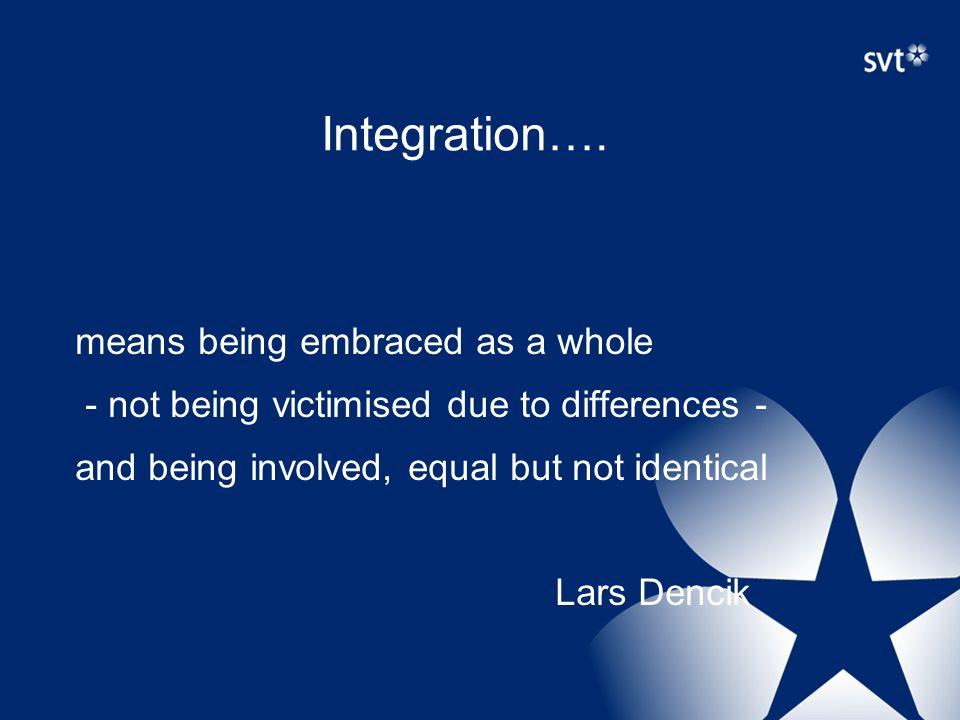 Integration….