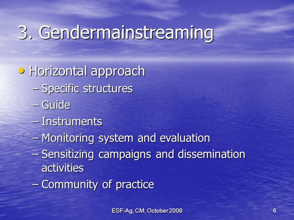 ESF-Ag, CM, October 20066 3.