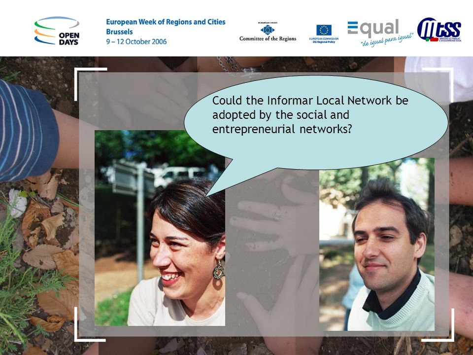 Could the Informar Local Network be adopted by the social and entrepreneurial networks