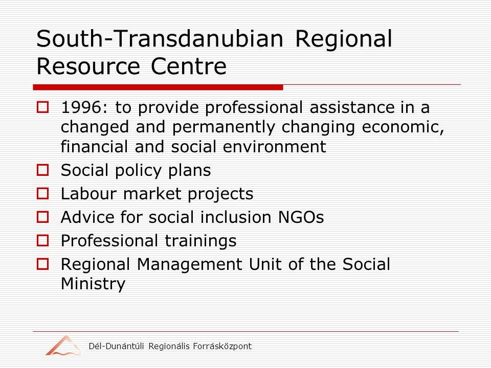 Dél-Dunántúli Regionális Forrásközpont Best Practice in partnership Motto: A genius.