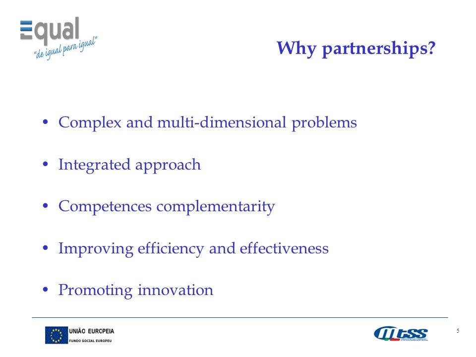 5 Why partnerships.