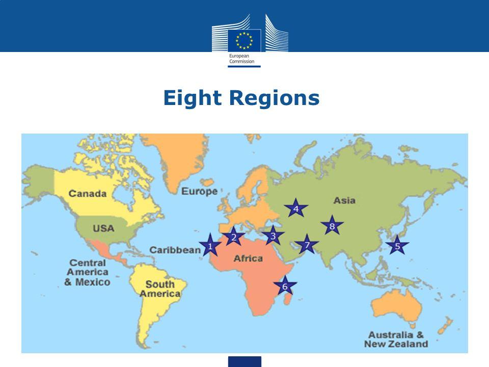 Eight Regions