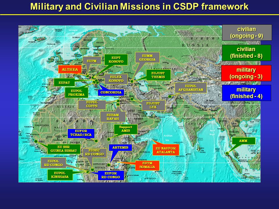 CSDP – essential element of Crisis Management DevelopmentDefence/Security Diplomacy political Economy Trade Geographical Desks CommissionCSDP Rule of Law Comprehensive Approach
