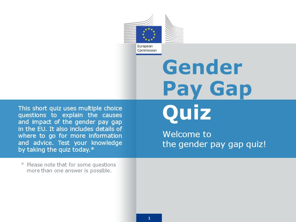 2 1.What is the gender pay gap.