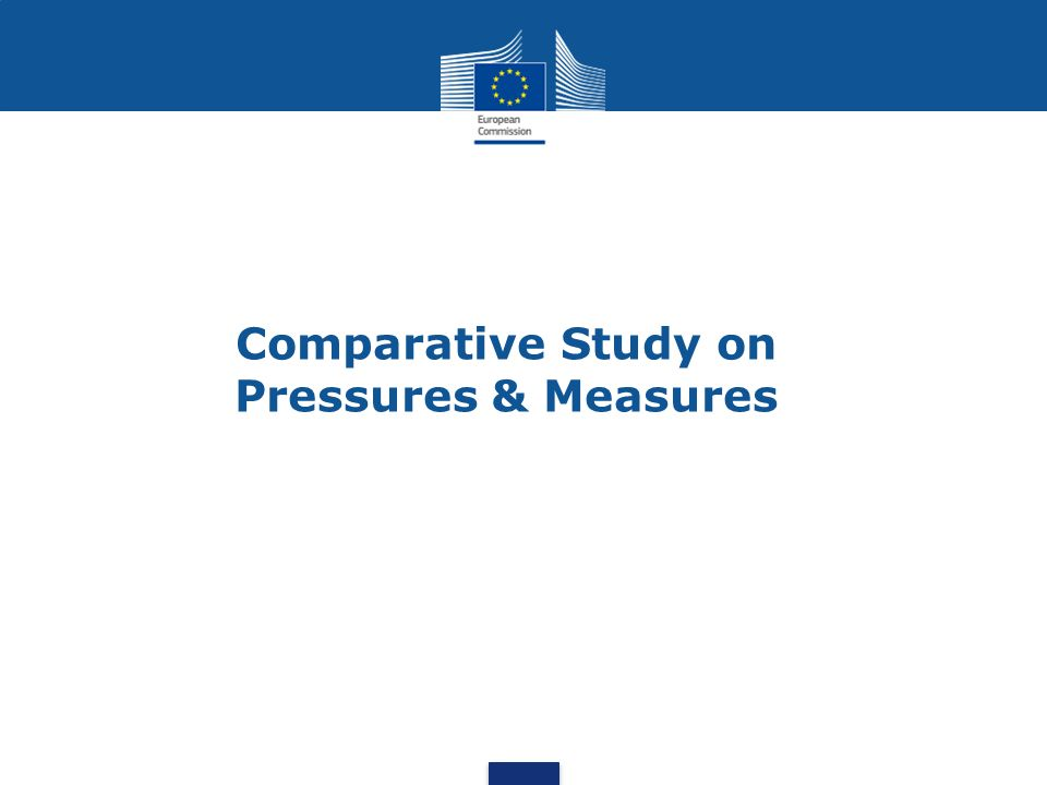 Comparative Study on Pressures & Measures