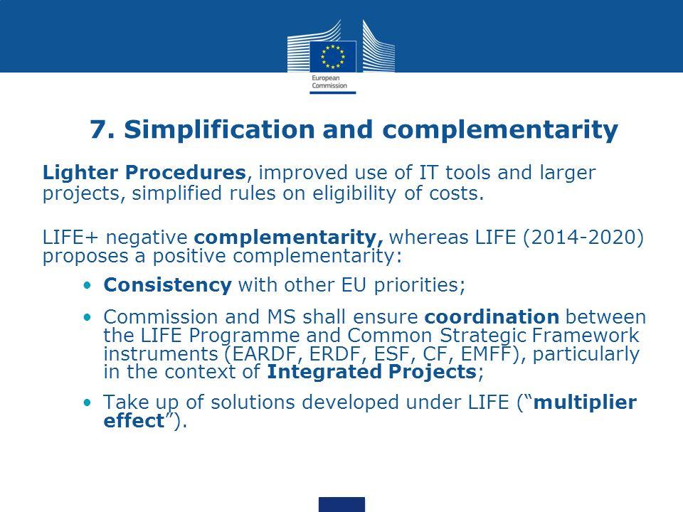 "Presentation ""Commission proposal for a new LIFE Regulation (2014 ..."