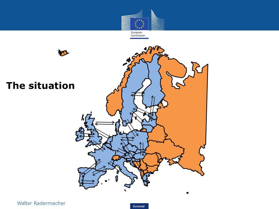 Eurostat Walter Radermacher The situation