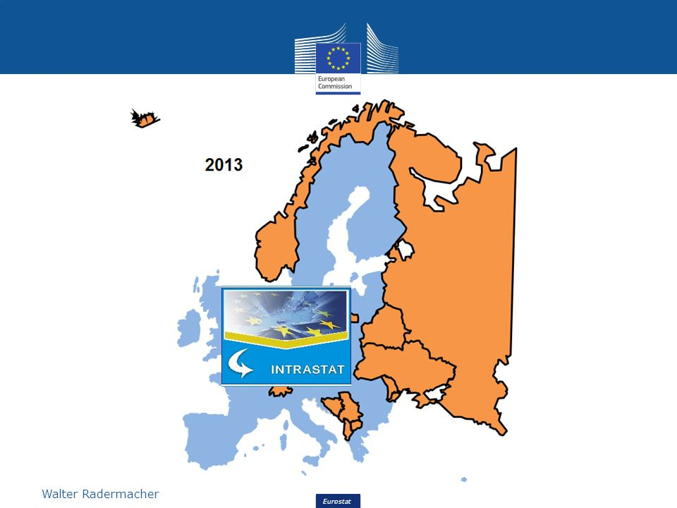 Eurostat Walter Radermacher Future plans – From Intrastat to Simstat Member States may decide to what extent these data are used together with other sources in the compilation of the imports.