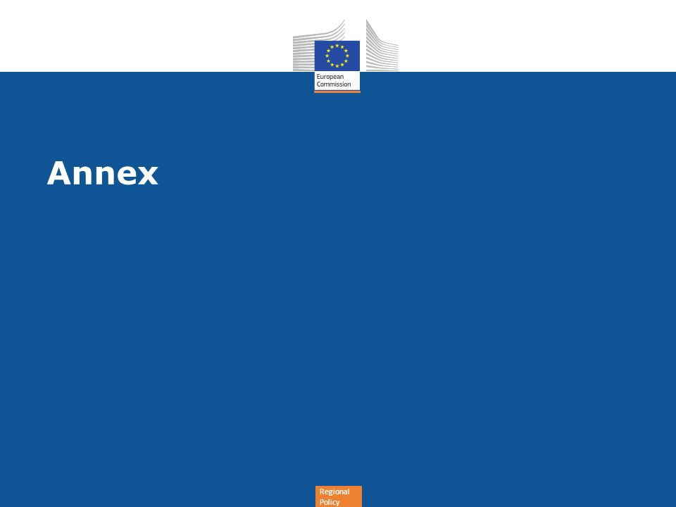 Regional Policy Annex