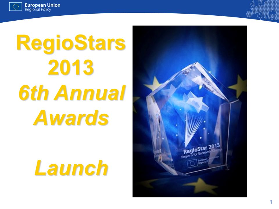 1 RegioStars 2013 6th Annual Awards Launch