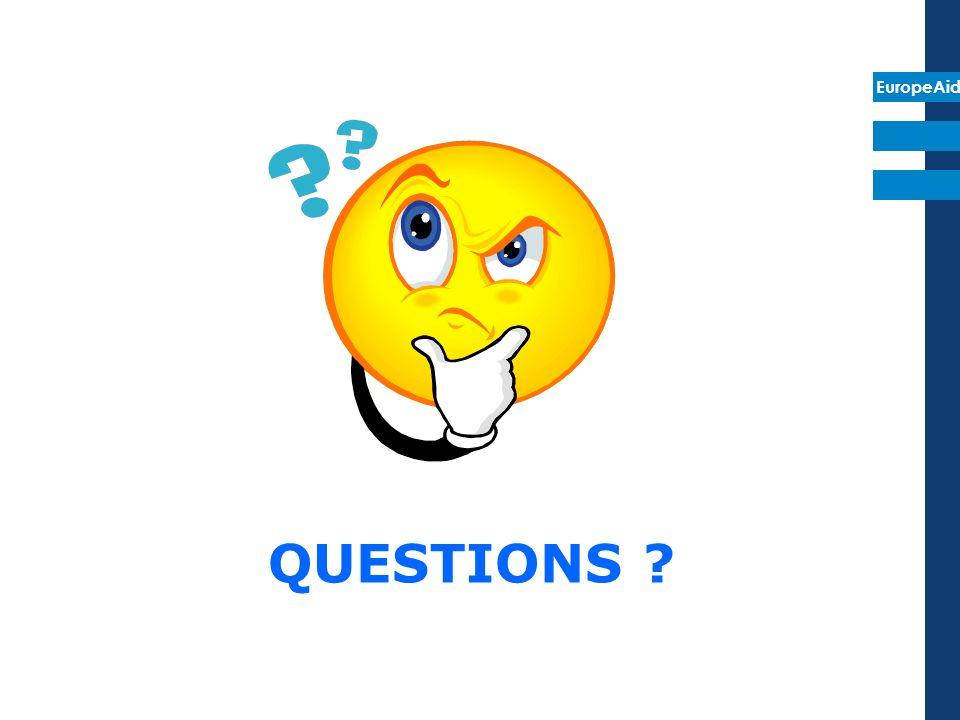 EuropeAid QUESTIONS ?
