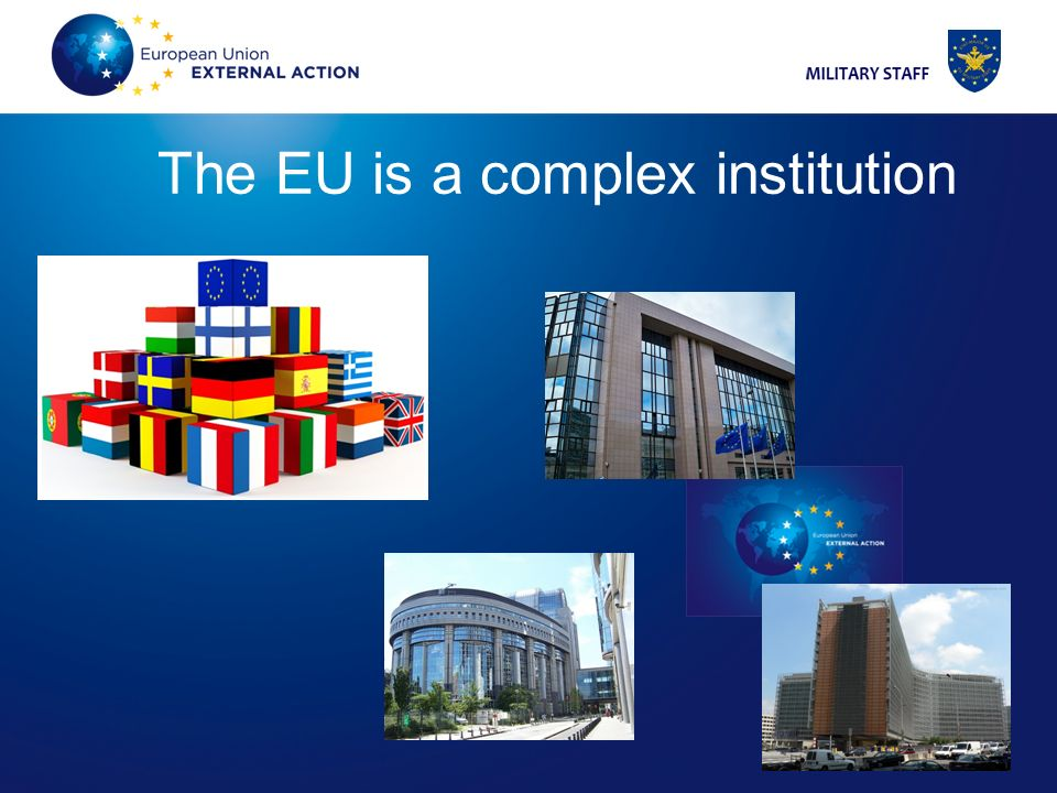3 3 The EU is a complex institution