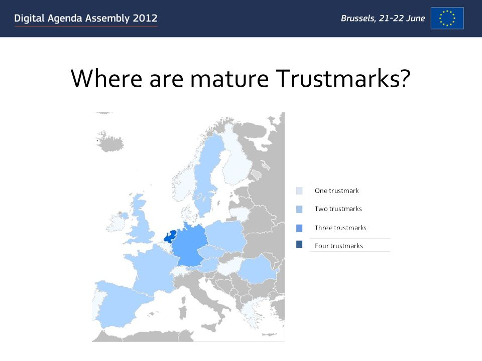 Where are mature Trustmarks?